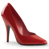 Escarpins rouges vernis