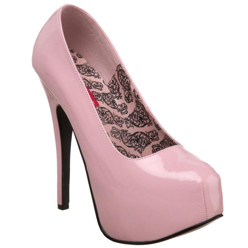 Dans VerniesL'escarpin Plateau Chaussures Rose À Burlesque Talon 54q3RScALj