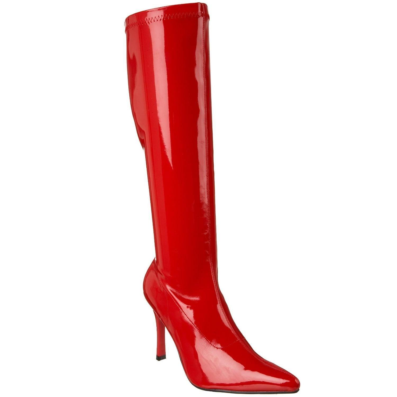 bottes rouges vernies femme. Black Bedroom Furniture Sets. Home Design Ideas