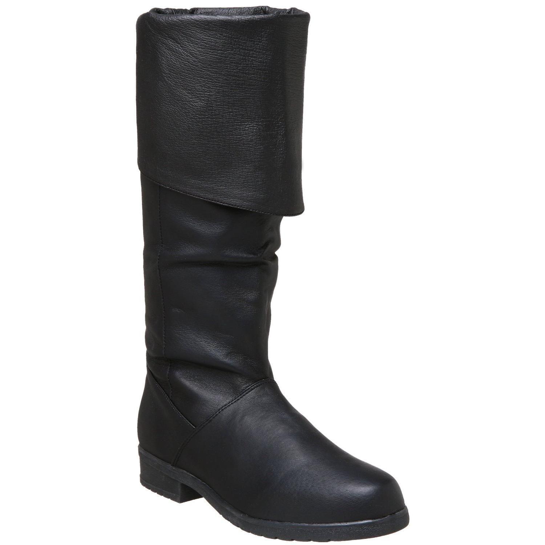 Bottes homme cuir noir - Pointure : 45
