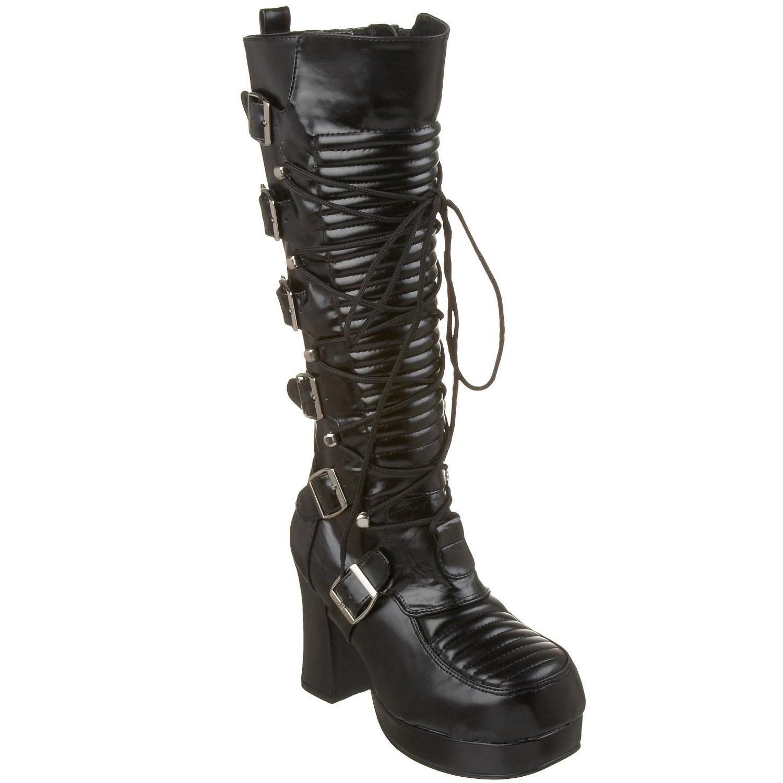 Bottes gothiques noires - Pointure : 36 - Demonia - Modalova