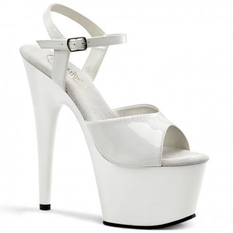 Sandales infirmière blanches très haut talon sexy 4012dd19e3e7