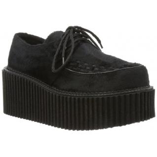 Chaussure rockabilly coloris noir creeper-202