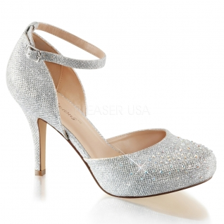 Escarpin d'Orsay strass argents petit talon covet-03