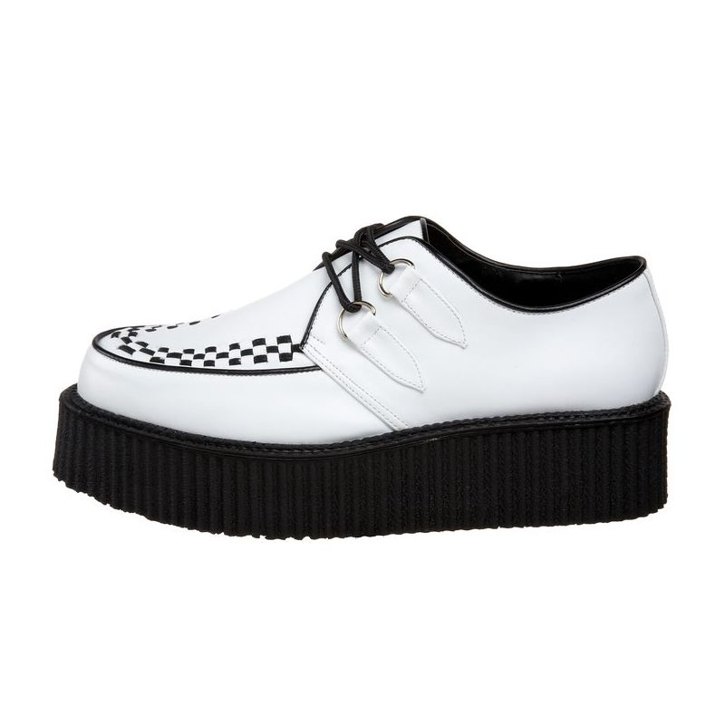 chaussure homme creepers blanche semelle paisse. Black Bedroom Furniture Sets. Home Design Ideas