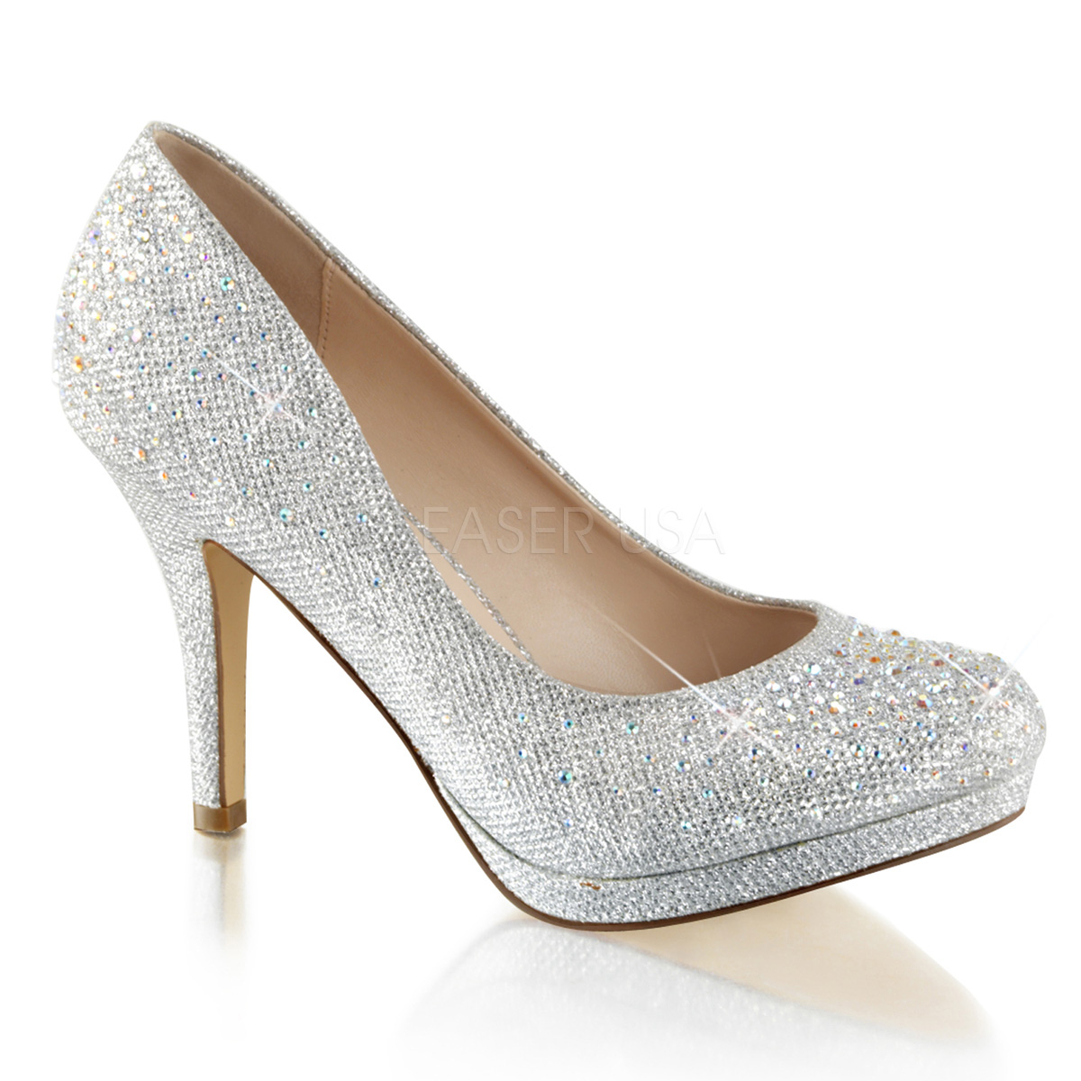 67d46fe4dbad Chaussures bout rond nouveautés en escarpins talon