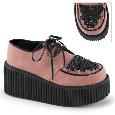 Creepers femme coloris saumon creeper-216