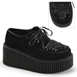 Creepers noirs semelle double creeper-216