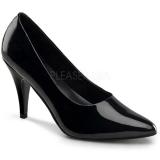 Escarpins classiques noirs vernis