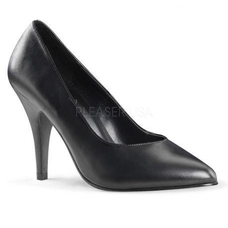 Escarpin noir mat spécial pied large dream-420w