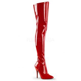 Cuissardes rouges vernies seduce-3000