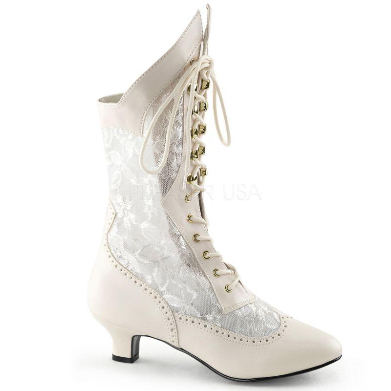 bottes femme blanches pour mariage