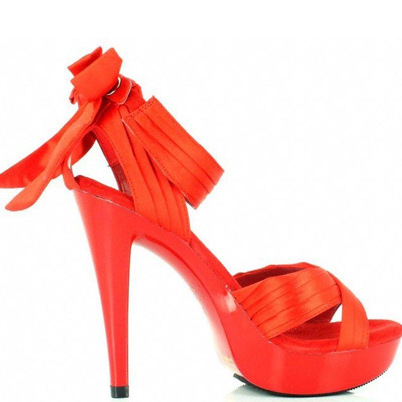 ... Sandale habillée coloris rouge talon fin cocktail-568 ... fafe76050faa