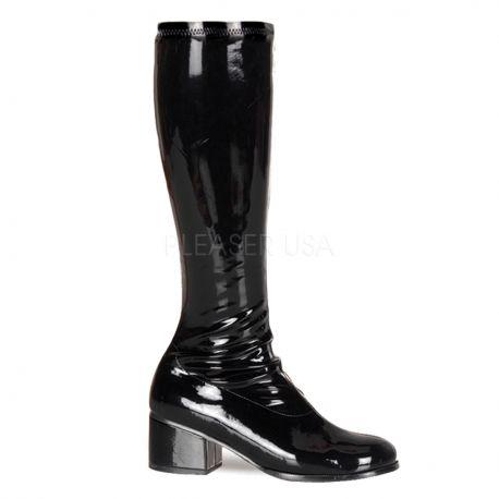 Bottes noires style rétro-300