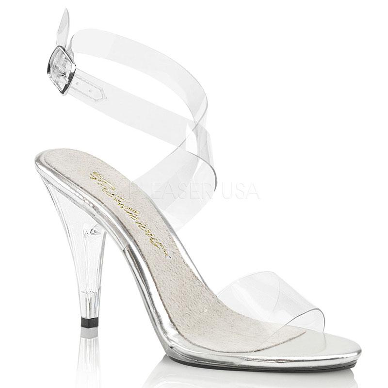 a4146f5639d Chaussure fitness féminine sandales transparentes