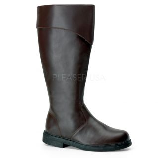 Botte homme colori marron