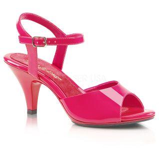 Sandales coloris fushia vernis belle-309