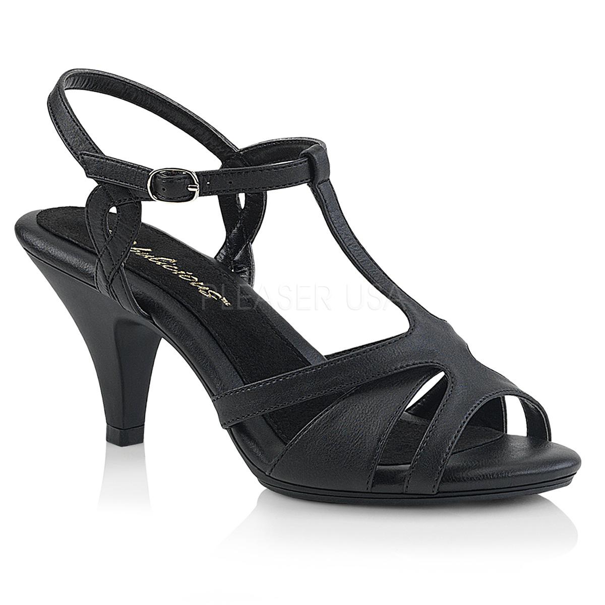Sandales noires à brides - Pointure : 37