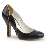 Escarpins noirs style vintage