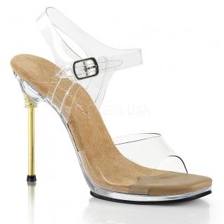 Nu-pieds transparents talon métal chic-08
