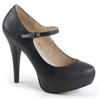 Escarpins noirs à bride chloe-02