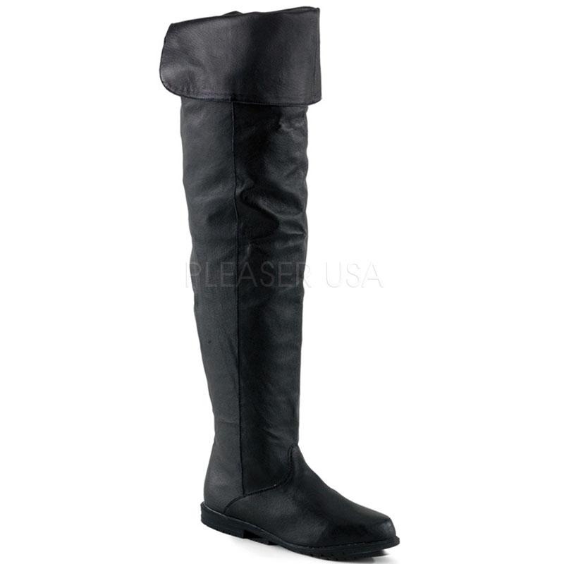 Cuissardes hommes cuir noir - Pointure : 38
