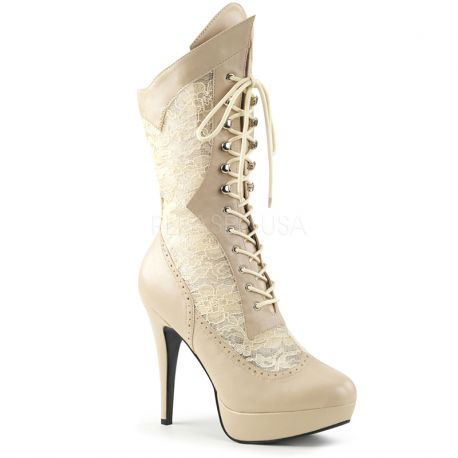 Chaussure femme taille extrême les bottines rétro 26d9068ee094