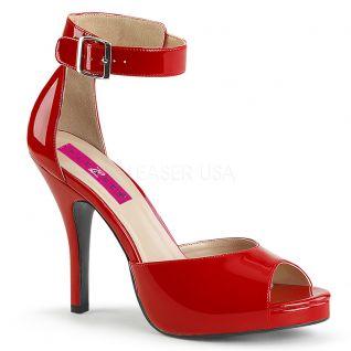 Sandales rouges vernies eve-02