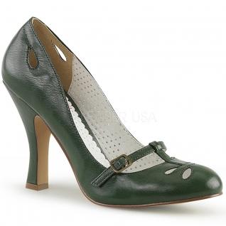 Escarpin Pin Up vert smitten-20