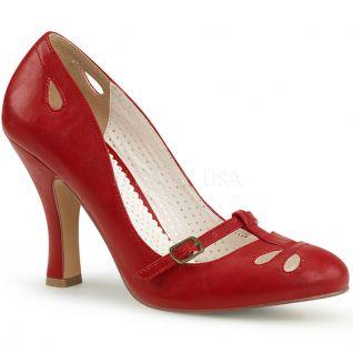 Escarpin Pin Up rouge smitten-20