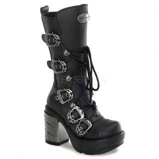 Bottes gothiques noires sinister-203