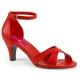 Sandale rouge divine-435