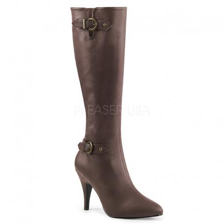 magasin en ligne 0bcc4 8c10c Bottes femme pointure extrême coloris marron talon