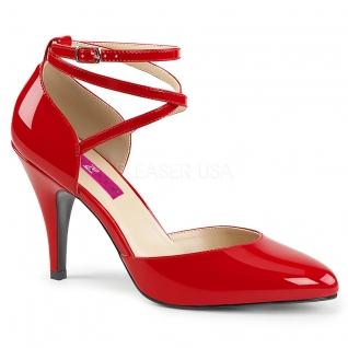Escarpins d'Orsay rouges vernis dream-408