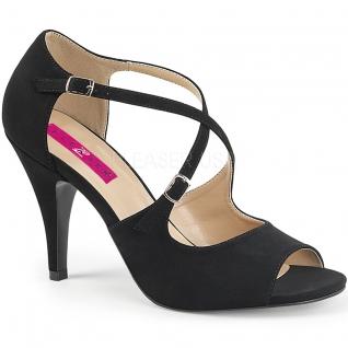 Sandales nubuck noir dream-412