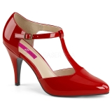 Escarpins d'Orsay rouges