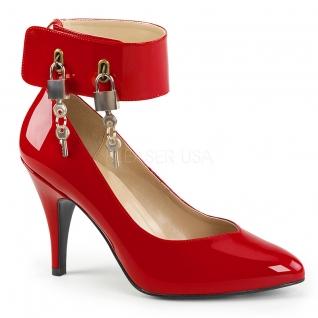 Escarpins rouges vernis à cadenas dream-432