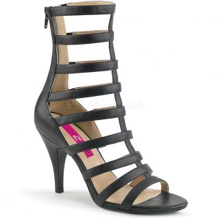 Sandales spartiates noires dream-438