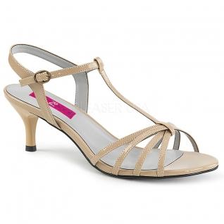Sandales petit talon coloris caramel kitten-06