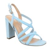 Sandales coloris bleu ciel