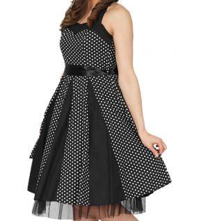 Robe dos-nu Polka noire