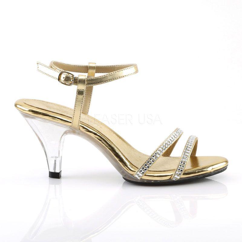 592278563e6b9 Sandales dorées petit talon belle-316 · nu-pied or pas cher ...