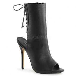 Sandales bottines noires amuse-1018