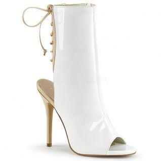 Sandales bottines blanches amuse-1018