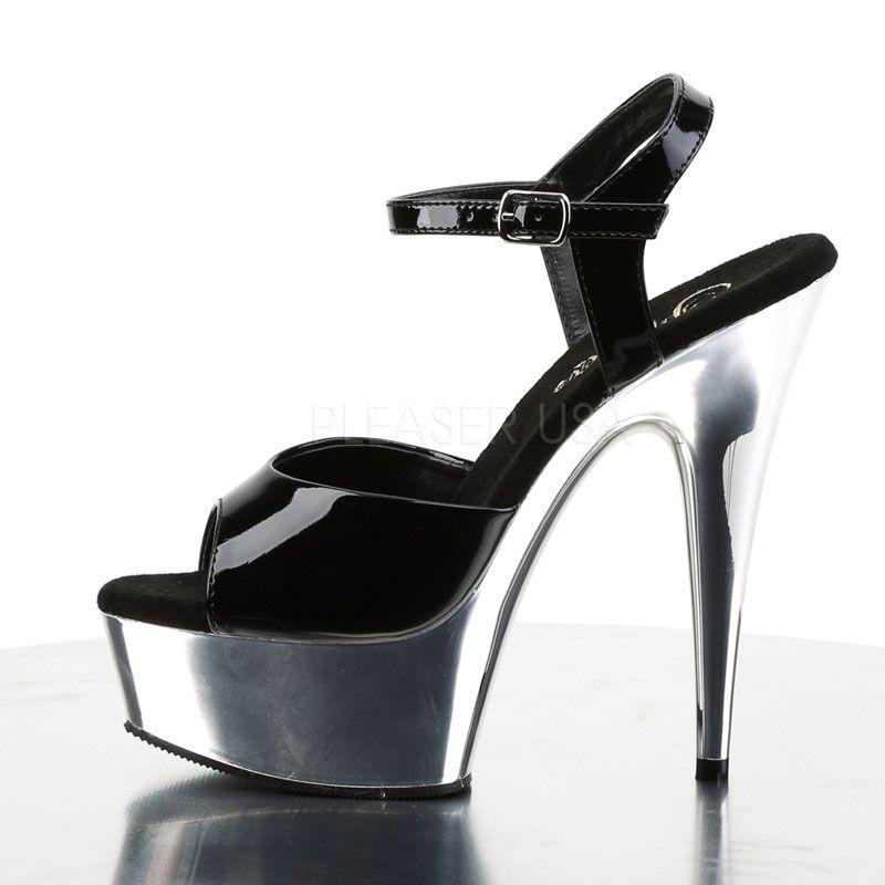 acheter des sandales originales noires plateformes. Black Bedroom Furniture Sets. Home Design Ideas