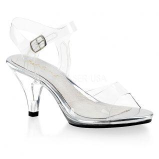 Nu-pieds transparents belle-308sd