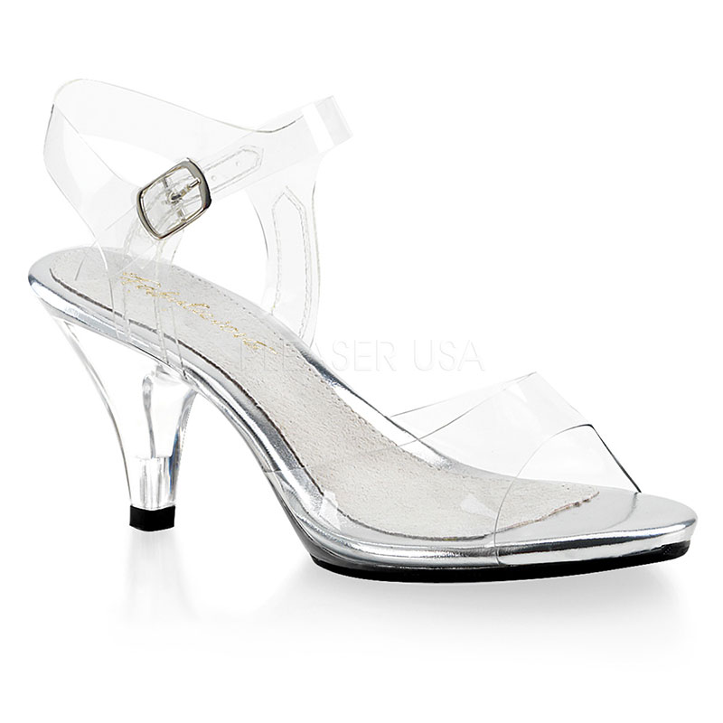 Nu-pieds transparents - Pointure : 47