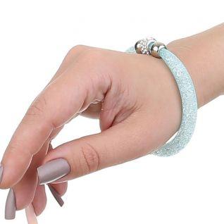 Bracelet lune bleu