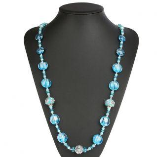 Collier de perle turquoise