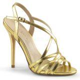 Nu-pied or à brides